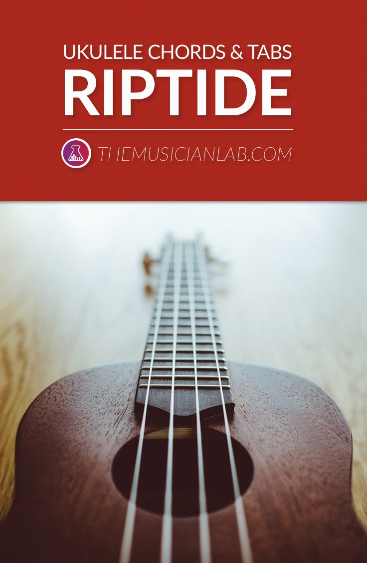 Learn Ukulele Riptide Chords and Tabs