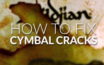 How to Fix Cymbal Cracks