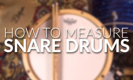 How to Measure Snare Drums